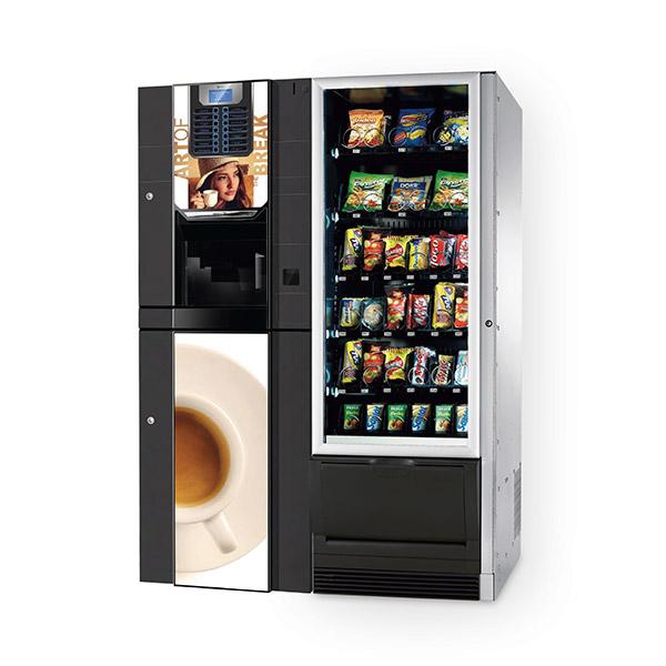 distributore automatico combinato necta snakky