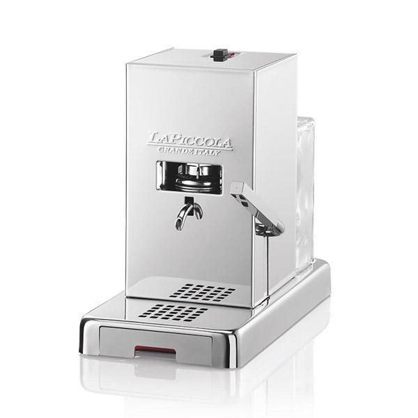 macchine caffè cialde piccola doppia lucidatura