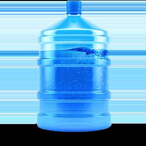 Boccioni di acqua